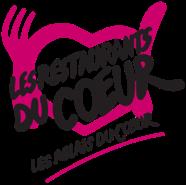 Logo des restaurants du coeur - le vélo du soir traiteur événementiel - 5x5