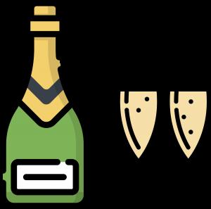 Icône Champagne - Le vélo du Soir traiteur événementiel artisanal