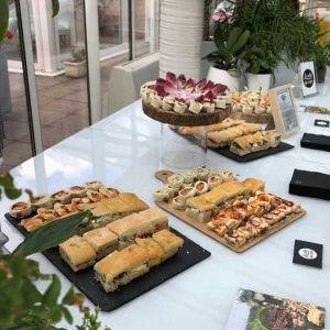 New - traiteur séminaire entreprise après-midi buffet privateaser